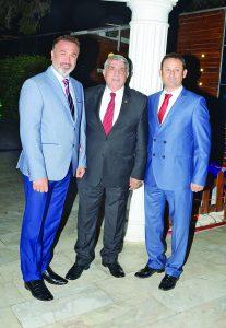 Gökay Gök, Necip Kalkan, Mehmet Tozlu