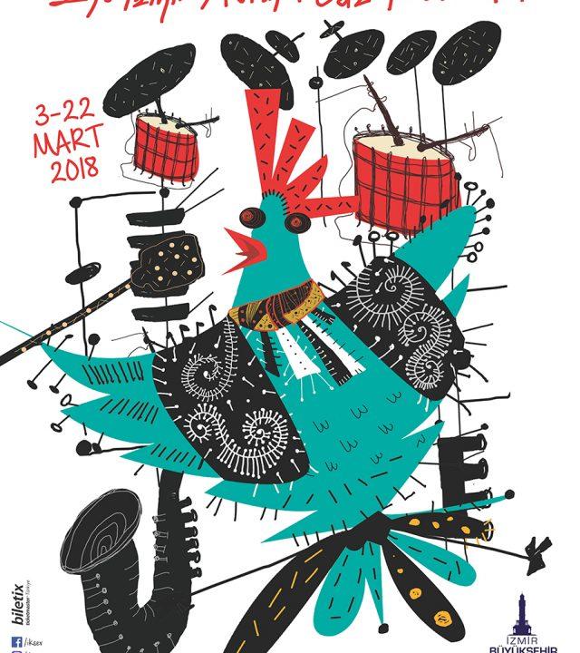 25.İzmir Avrupa Caz Festivali Afişi