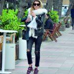 Pınar Şahin, sahibi olduğu Shine by Pın, mağazasına gidiyordu.