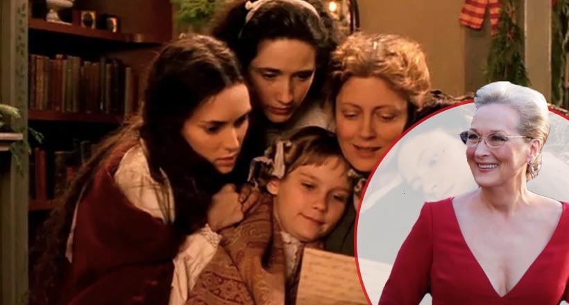 Kucuk Kadınlar Film Merly Streep-manset