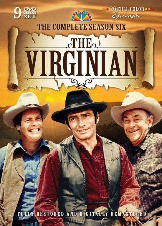 14. The Virginian (1962–1971) IMDB 7.7-divamagazin