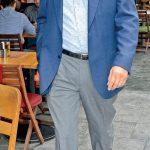 Ünlü iş insanı Alberto Elhadef, Kanyon'da iş arkadaşlarıyla buluştu.