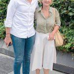 Aylin Kotil ve oğlu Ömer Sarıgül Akmerkez'de kameralara yansıdı. 2014 yerel seçimlerinde Beyoğlu Belediye Başkanlığı'na adaylığını koyarak siyasete giren Kotil, keyifli bir gün geçirdi.