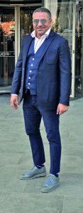 Chetaum arkasının sahibi Çetin Koçak, Folkart Towers'a toplantıya gidiyordu.