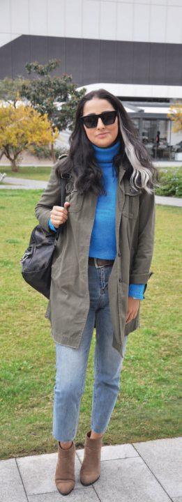 Blogger Deniz Saruhanlıoğlu , Folkart Çarşı'daki Bisquitte'e giderek bir arkadaşının doğum günü kutlamasına katıldı.