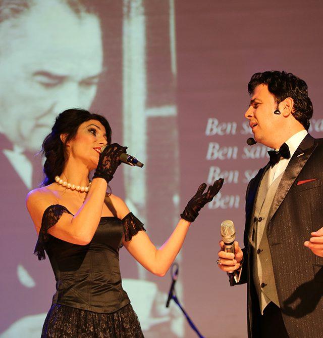 Gaziemir'de Ata'ya vefa konseri (1)