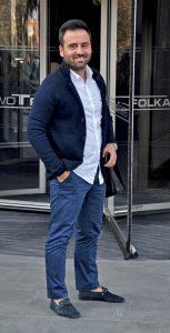 Livamine Genel Müdür Yardımcısı İbrahim Hamut, Folkart Towers'taki ofisine gidiyordu.