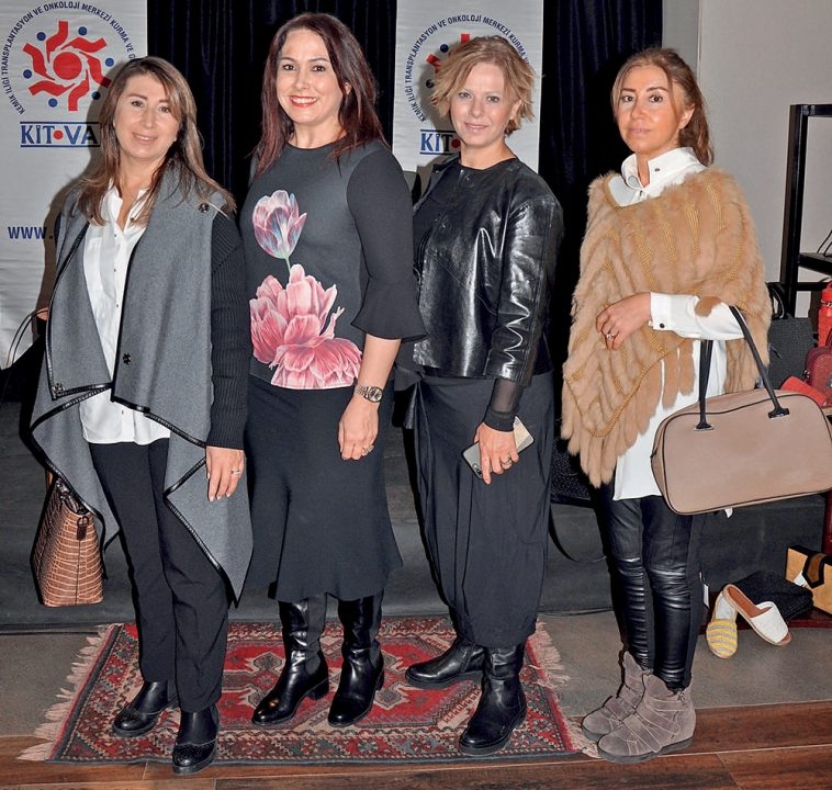 Meral Esen, İnci Sancak, Serpil Atlet, Ebru Yoğurtçu