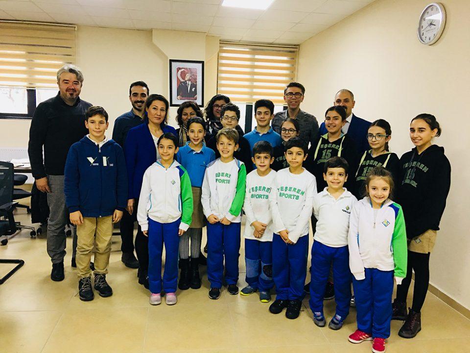 Özel Yeşeren Okulları Öğrencileri ile