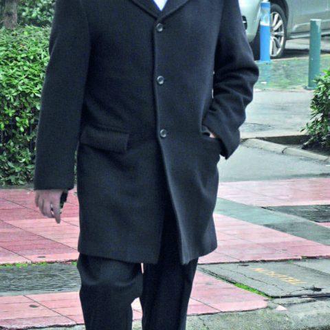 EGİAD  Yönetim Kurulu Başkanı Mustafa Aslan, toplantı sonrası objektifimize yansıdı