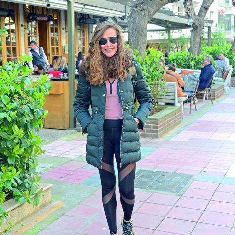 Ceyda Öztekin, Fuar Kültürpark alanına yürüyüşe gidiyordu.