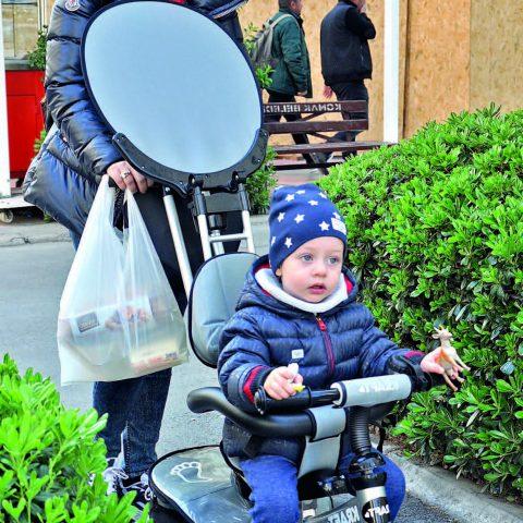 Ceren Yavuz, dünyalar tatlısı oğlu ile keyifli bir gün geçirdiğini söyledi.