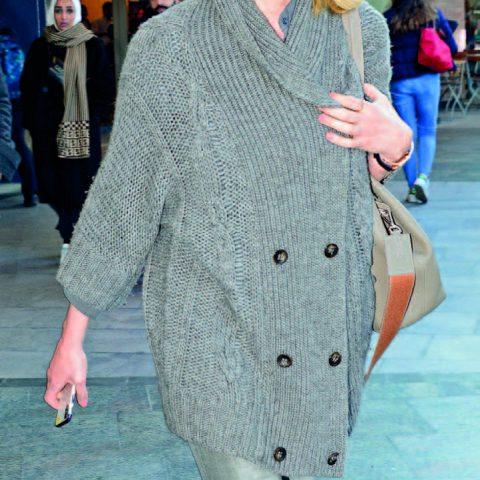 Damat Tween'in sahibi Süleyman Orakçıoğlu'nun güzel eşi Ahu Orakçıoğlu hafta içi alışveriş için geldiği Kanyon'da görüntülendi.