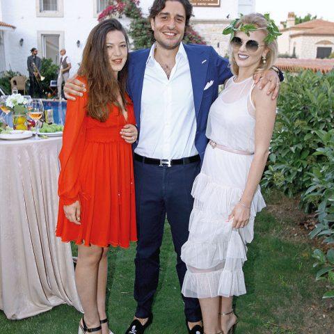 Jessica Ridomi, Duccio Bellini, Lauren Bellini