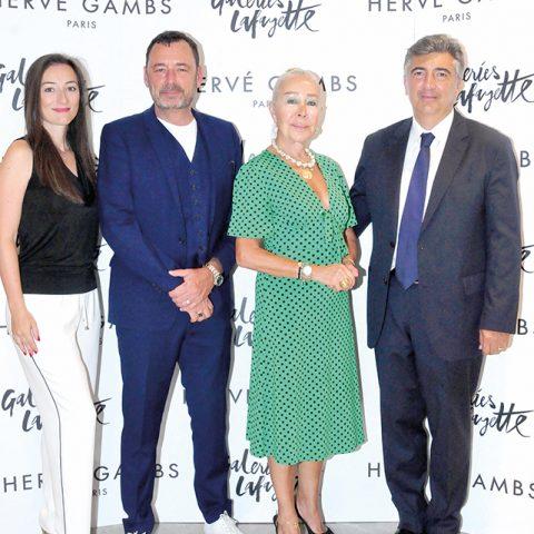 Özge Yılmazer, Hervé Gambs, Ayşe Azizoğlu, Ali Çelikkol