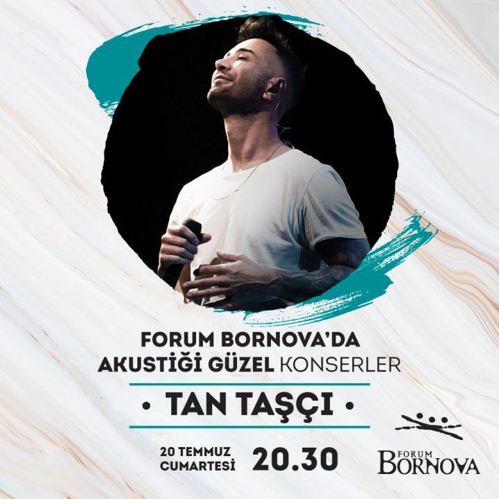 """Forum Bornova, """"Akustiği Güzel'' Konserler'de Tan Taşçı ile hayranlarını buluşturuyor"""