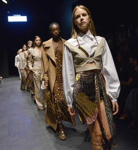 Ceren Ocak – Runway – Mercedes-Benz Fashion Week Istanbul – October 2019