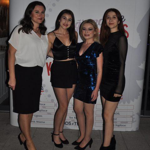Emine Kıray, Pelin Aydın, Şule Canbakan, Elmas Keser