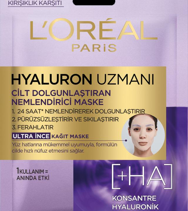 Hyaluron Uzmanı Kağıt Maske